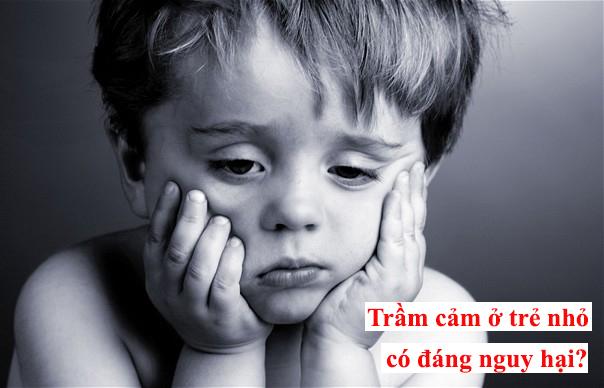 Trầm cảm ở trẻ em – Vấn đề cha mẹ cần quan tâm 1