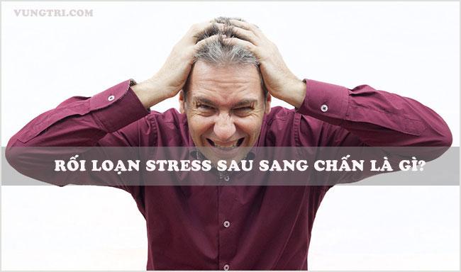 Rối loạn stress sau sang chấn là bệnh gì? 1