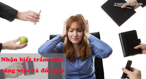 Biểu hiện của trầm cảm vì công việc 1