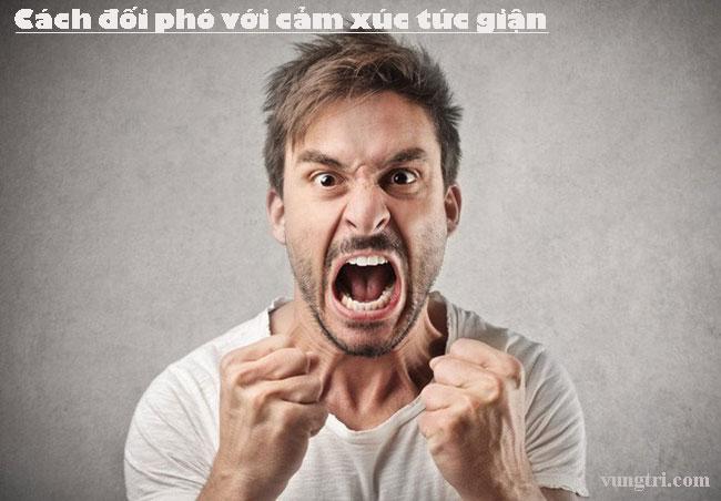 Cách đối phó với cảm xúc tức giận 1