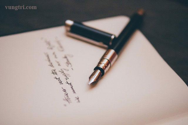 Viết nhật ký – Liệu pháp trị trầm cảm 1