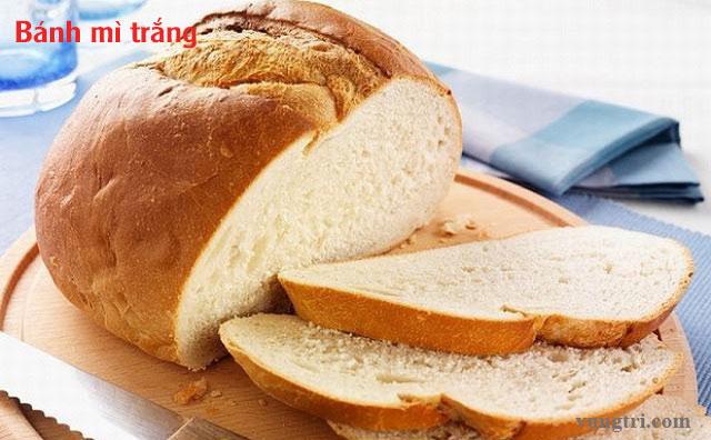 Các loại bánh mì trắng 1