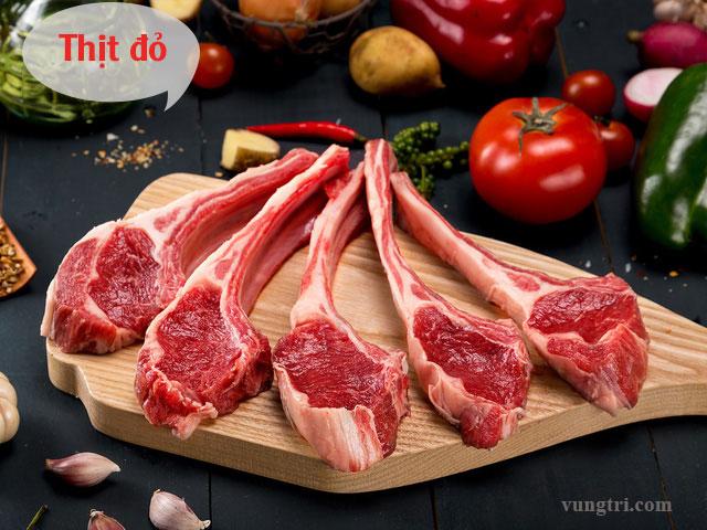 Thịt đỏ 1