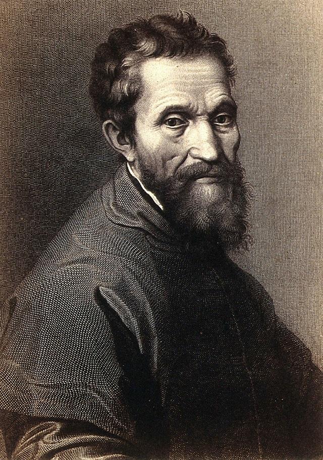 7. Michelangelo Di Lodovico Buonarroti Simoni (1475-1564) 1