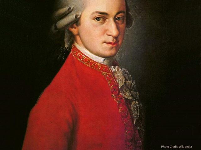 3. Wolfgang Amadeus Mozart (1756-1791) 1