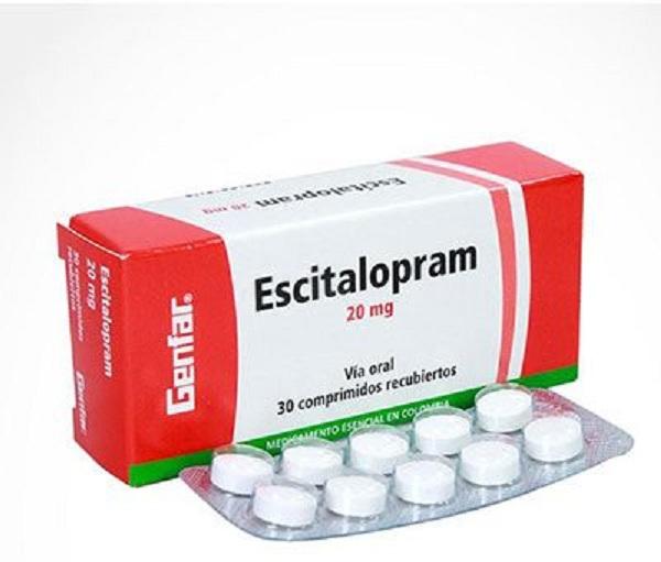 Thuốc escitalopram 1