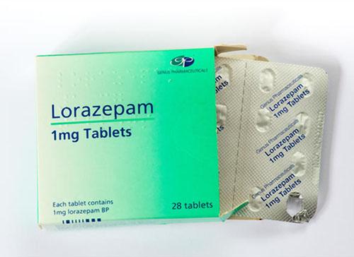 Thuốc lorazepam 1